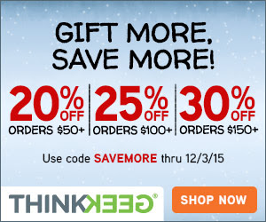 ThinkGeek Coupon - Geek Decor