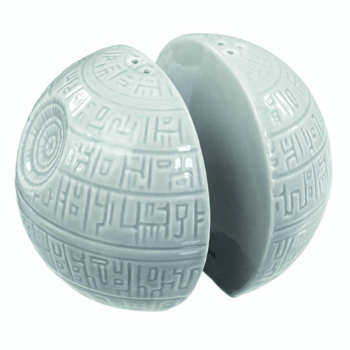 Death Star Salt and Pepper Shakers -- Geek Decor