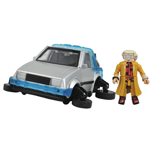 DeLorean Minimates Vehicle - Geek Decor