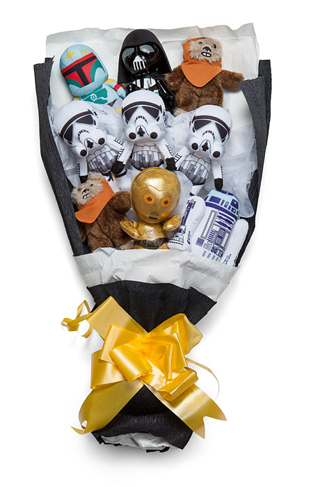 Star Wars Bouquet - Geek Decor