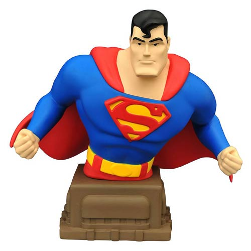 Get A Touch of Heroic, With This Superman Bust