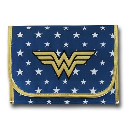 Category: Bathroom. Wonder Woman Cosmetic Bag   Geek Decor