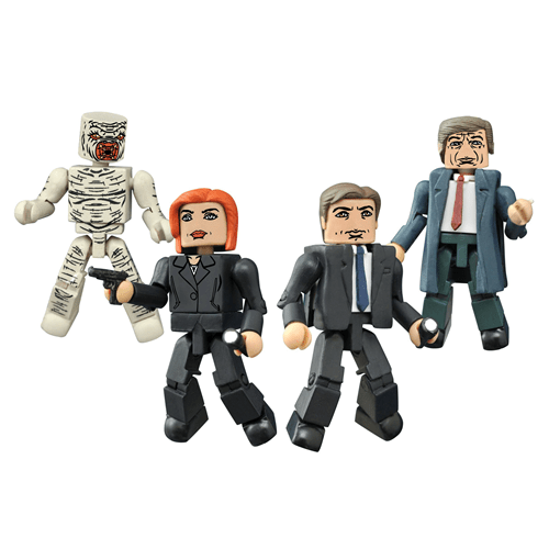 X-Files Minimates - Geek Decor