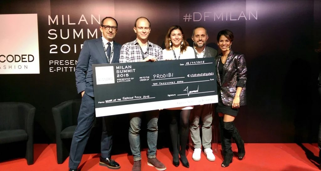 Prodibi premiata al Decoded Fashion 2015