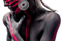 Drow Painted Woman