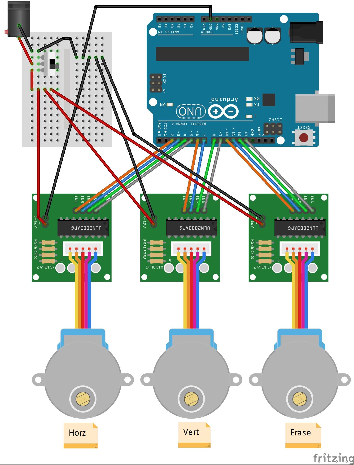 Etchabot a cnc etch sketch geek mom projects