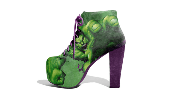 Avengers Hulk Shoes by Lonely Soles