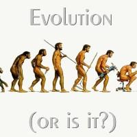 Paródias sobre a teoria da evolução