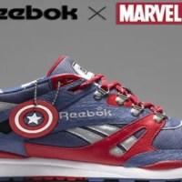Linha de tênis Reebok X Marvel