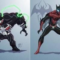 Mashup Geek | Veja o resultado da fusão entre alguns personagens da Marvel e da DC