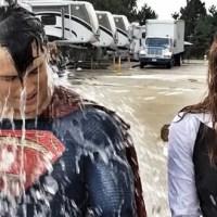 Superman e Lois Lane também entraram no Desafio do Balde de Gelo