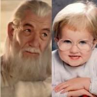 Aleatoriedades Aleatórias | 11 Bebês que se parecem com algumas celebridades