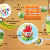 Cut The Rope no Mc Lanche Feliz