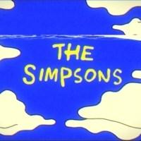 Essa é provavelmente a abertura dos Simpsons mais estranha que já assisti