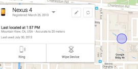 Android Device Manager - Google - Annonce Aout 2013