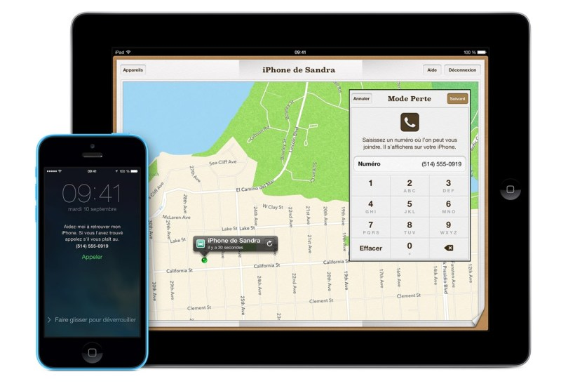 Localiser mon iPhone - iOS - Retrouver son telephone perdu