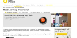 Direct Energie - Nest - Pack Chauffage