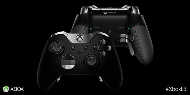 Elite wireless controler: cool mais chère... Elite-controller-Microsoft-Xbox-One
