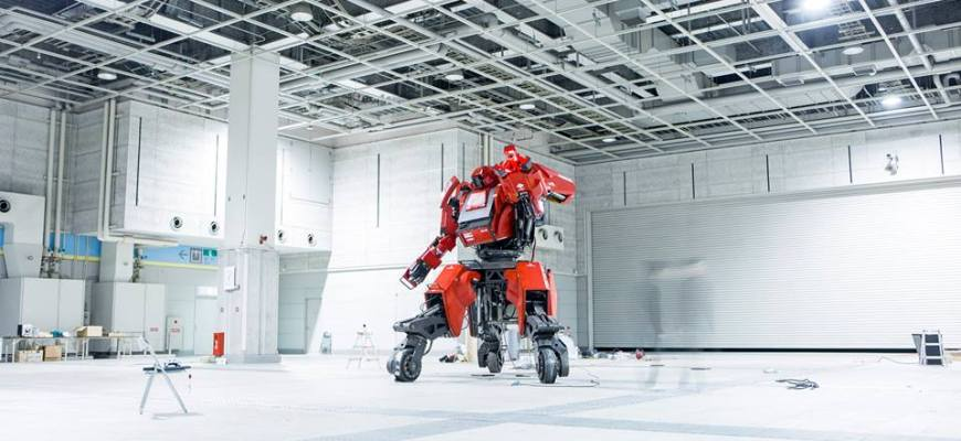 Robot geant Suidobashi Heavy Industry