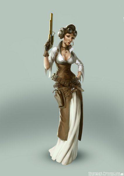 Princess Leia- Steam Punk Goddess