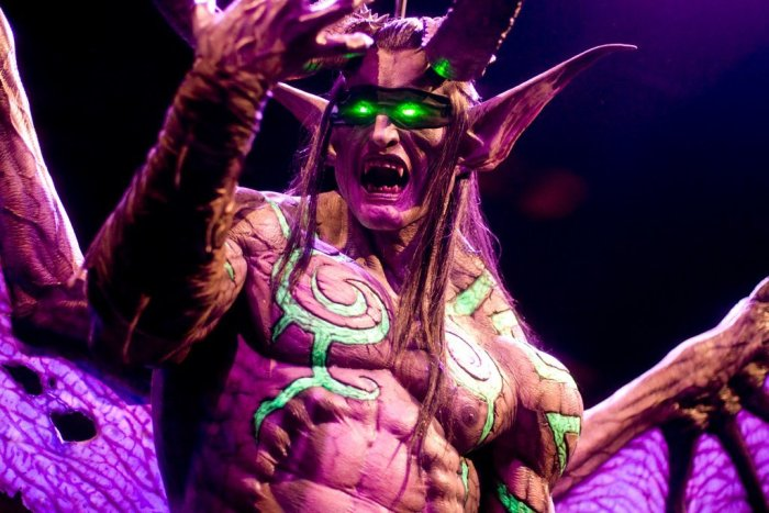 Illidan Stormrage - Blizzcon 2011