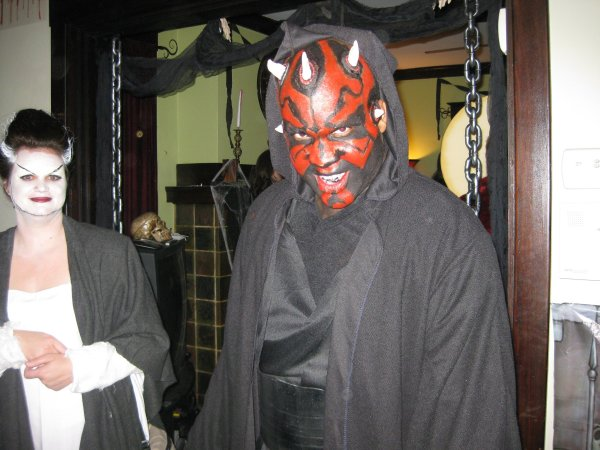 Kwam as Darth Maul
