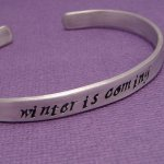 Winter Is Coming Bracelet
