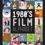 80s Movie Alphabet by Stephen WIldish