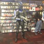 Steven in his custom N7 armor in Acworth, Ga