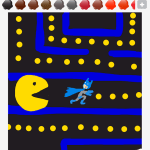 Drawsome Batman-Pacman
