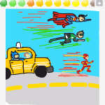 Drawsome Batman-Taxi