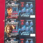 Texas State Avengers Scratch Off Lotto Tickets