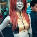 Mercury (X-Men) - Hayley Sargent - SDCC 2012