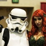 Stormtrooper and Poison Ivy @ Las Vegas Comic Expo 2012  Picture by Brian DeCania