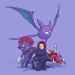 Avengers Pokemon – Black Widow