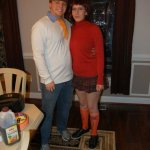 Andrew A. and Friend - Fred Jones and Velma Dinkley (Scooby Doo)