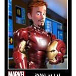 Pixar Iron Man