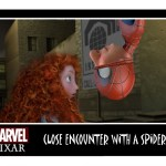 Pixar Spiderman Kiss