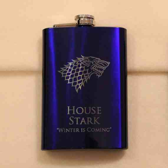 GoT House Stark Flask