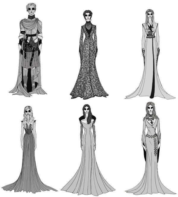 """Game of Thrones"" Female Costumes."