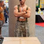 Snake And His Box - San Diego Comic-Con (SDCC) 2013 (Day 1)