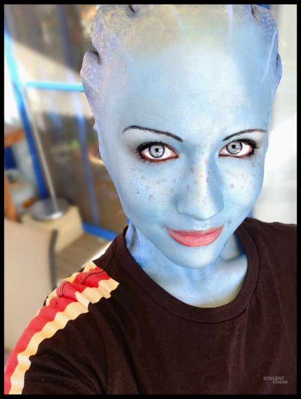 mass effect Liara cosplay