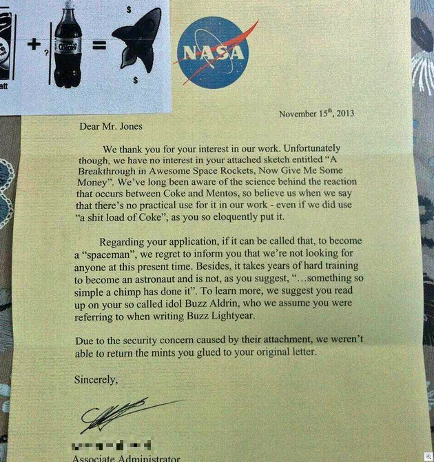 nasarejection
