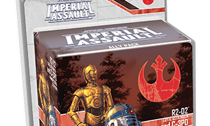 R2-D2 and C-3PO Ally Pack for Star Wars Imperial Assault