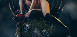 Vampirella cosplay by Jenifer Ann