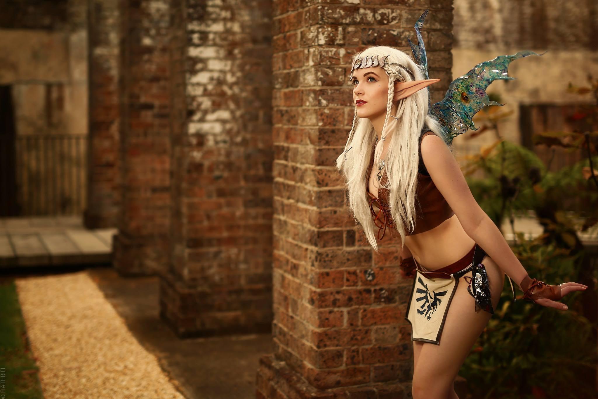Eve Beauregard cosplay of Navi from Legend of Zelda