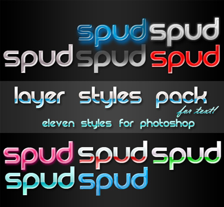 Free photoshop styles