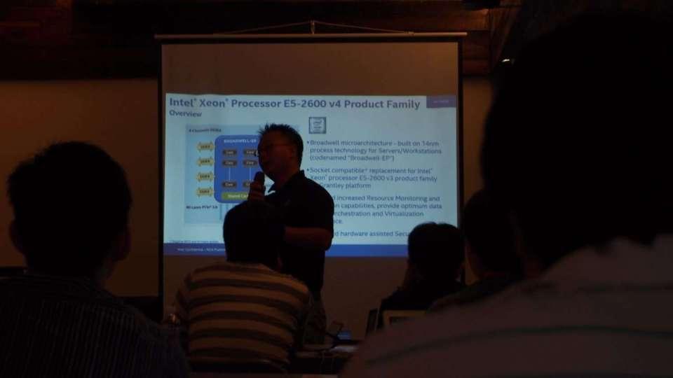 Xeon E5-2600 v5 Presentation