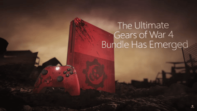GOW4 2TB Xbox One S Reveal