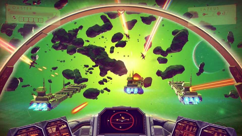 Here's a Video of Amazing Space Dogfights in No Man's Sky